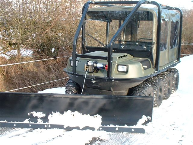 Argo Snow Plough
